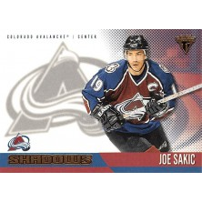 Sakic Joe - 2002-03 Titanium Shadows No.4