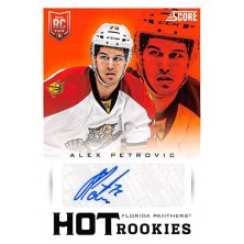 Petrovic Alex - 2013-14 Rookie Anthology Score Update Hot Rookie Signatures No.740