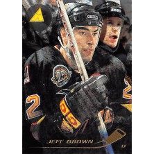 Brown Jeff - 1995-96 Pinnacle Rink Collection No.29