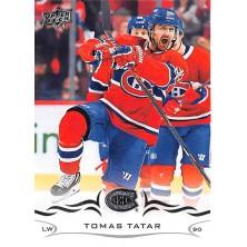 Tatar Tomáš - 2018-19 Upper Deck No.350