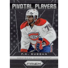 Subban P.K. - 2013-14 Prizm Pivotal Players No.PP-15