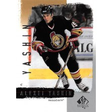 Yashin Alexei - 2000-01 SP Authentic No.61