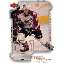 Forsberg Peter - 2000-01 Pros and Prospects No.24