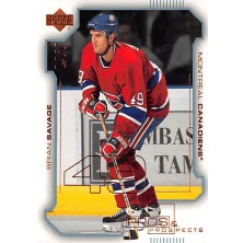 Savage Brian - 2000-01 Pros and Prospects No.45