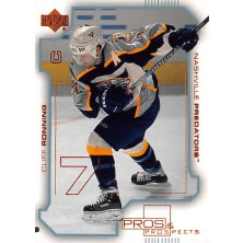 Ronning Cliff - 2000-01 Pros and Prospects No.49