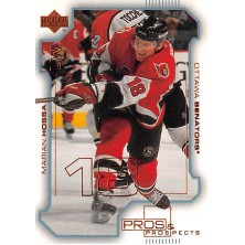 Hossa Marián - 2000-01 Pros and Prospects No.59