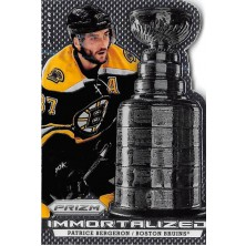 Bergeron Patrice - 2013-14 Prizm Immortalized No.I-11