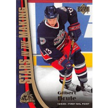 Brule Gilbert - 2005-06 Upper Deck Stars in the Making No.SM11