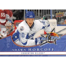 Horcoff Shawn - 2008-09 Upper Deck All-Stars No.AS10