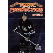 Bertuzzi Todd - 2002-03 Topps Total Total Production No.TP14