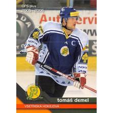 Demel Tomáš - 2005-06 OFS No.366