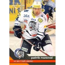 Rozsíval Patrik - 2005-06 OFS No.370