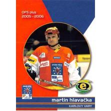 Hlavačka Martin - 2005-06 OFS Utkání Hvězd No.CS5