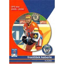 Kaberle František - 2005-06 OFS Utkání Hvězd No.CS6