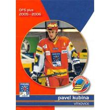 Kubina Pavel - 2005-06 OFS Utkání Hvězd No.CS10