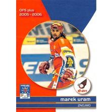 Uram Marek - 2005-06 OFS Utkání Hvězd No.CS11