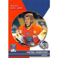Nedorost Václav - 2005-06 OFS Utkání Hvězd No.CS12