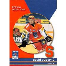 Výborný David - 2005-06 OFS Utkání Hvězd No.CS14