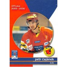 Čajánek Petr - 2005-06 OFS Utkání Hvězd No.CS18