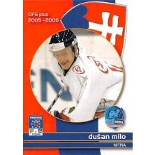 Milo Dušan - 2005-06 OFS Utkání Hvězd No.CS25