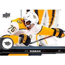 Subban P.K. - 2017-18 Upper Deck No.358
