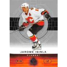 Iginla Jarome - 2002-03 SP Authentic No.12