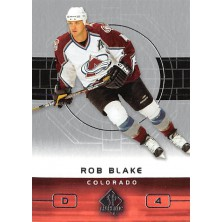 Blake Rob - 2002-03 SP Authentic No.24