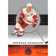 Shanahan Brendan - 2002-03 SP Authentic No.31