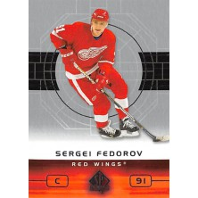 Fedorov Sergei - 2002-03 SP Authentic No.35