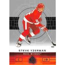 Yzerman Steve - 2002-03 SP Authentic No.36
