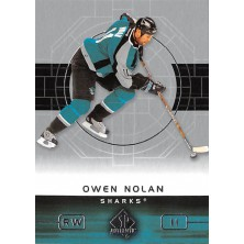 Nolan Owen - 2002-03 SP Authentic No.75