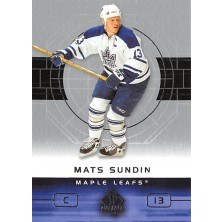 Sundin Mats - 2002-03 SP Authentic No.84