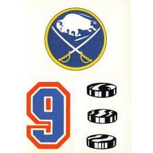 Buffalo Sabres - 1986-87 Topps Sticker Inserts No.14