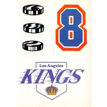 Los Angeles Kings - 1986-87 Topps Sticker Inserts No.22