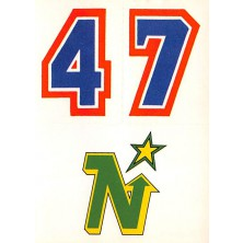 Minnesota North Stars - 1986-87 Topps Sticker Inserts No.29B