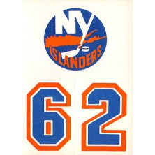 New York Islanders - 1986-87 Topps Sticker Inserts No.32A