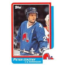 Šťastný Peter - 1986-87 Topps No.20