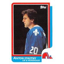 Šťastný Anton - 1986-87 Topps No.125
