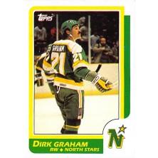 Graham Dirk - 1986-87 Topps No.143