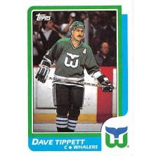 Tippett Dave - 1986-87 Topps No.148