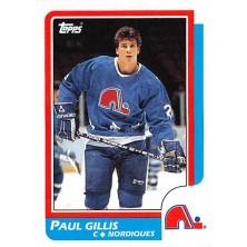 Gillis Paul - 1986-87 Topps No.168