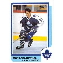 Courtnall Russ - 1986-87 Topps No.174