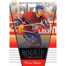 Komisarek Mike - 2002-03 Rookie Update No.121
