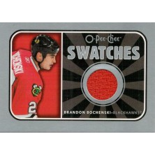 Bochenski Brandon - 2006-07 O-Pee-Chee Swatches No.S-BB