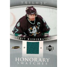 Niedermayer Scott - 2006-07 Trilogy Honorary Swatches No.HS-SN