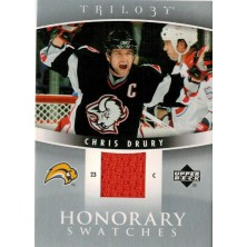 Drury Chris - 2006-07 Trilogy Honorary Swatches No.HS-CD