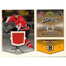 Redden Wade, Chára Zdeno - 2006-07 MVP One on One Jerseys No.OJ-CR