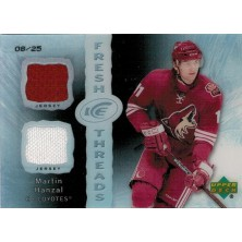 Hanzal Martin - 2007-08 Ice Fresh Threads Black White No.FT-MH