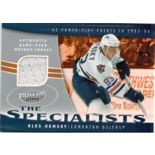 Hemský Aleš - 2006-07 Power Play Specialists Jerseys No.S-AH