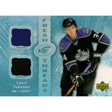 Tukonen Lauri - 2007-08 Ice Fresh Threads No.FT-LT